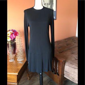 LIDA BADAY long sleeved perfect black dress